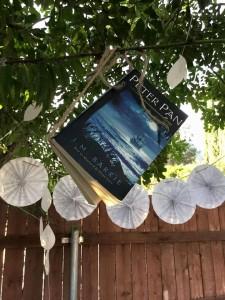 flying book peter pan