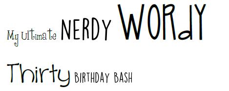 nerdy wordy