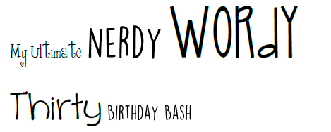 nerdy wordy