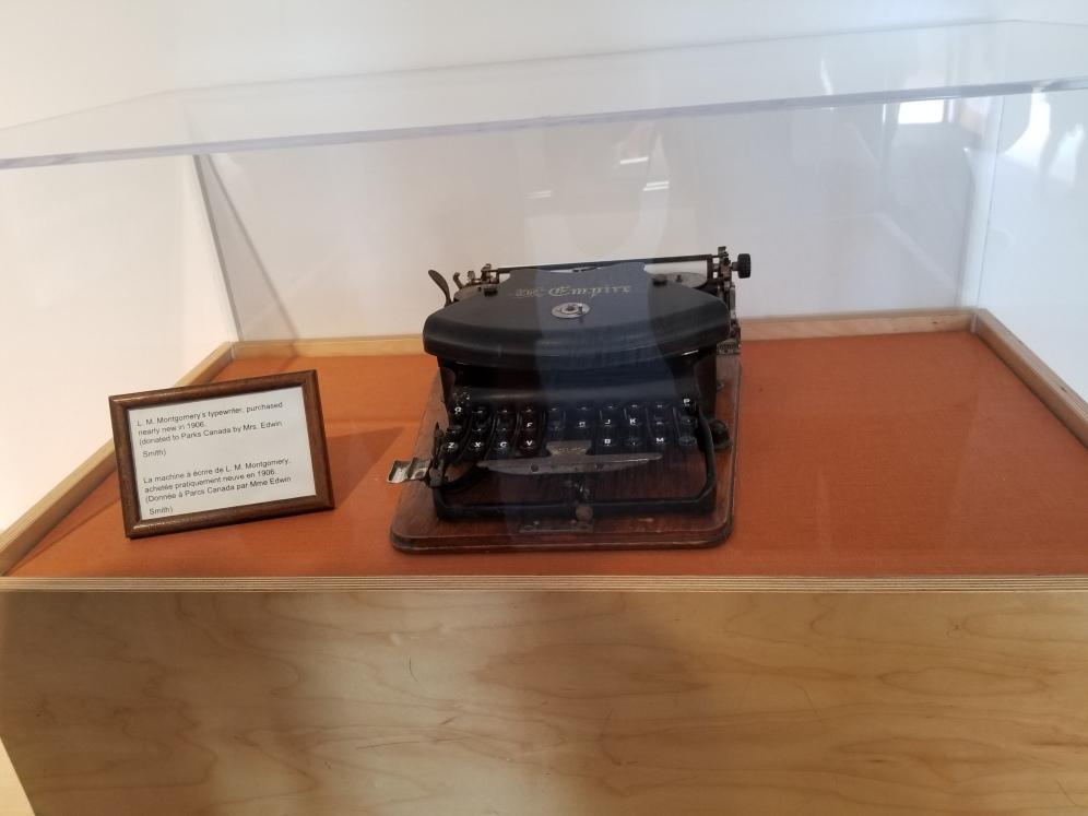 L.M. Montgomery's typewriter