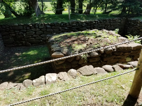 Foundation of the homestead